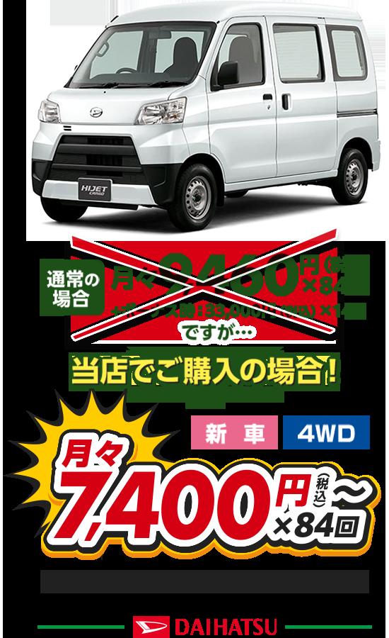 月々5,500円〜 x 84回